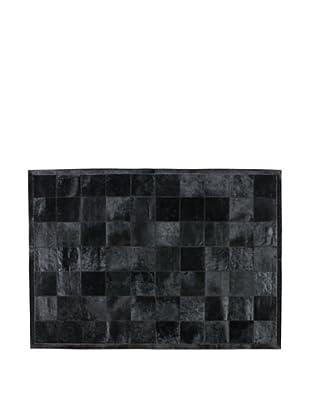 Alfombra 170X240 Piel Humma Negro