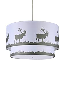 Inhabit Hudson Double Pendant Lamp (Natural Brown)