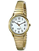 Timex Women's T2H351 Easy Reader Gold-Tone Expansion Band Watch