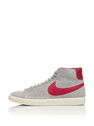 Nike Zapatillas Blazer Mid Prm Suede (Gris / Fucsia)