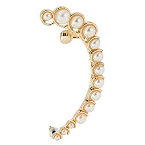 Gold and Pearl Ear cuff for women by Ashiana