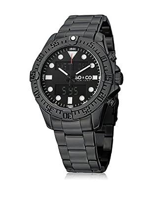 SO & CO New York Uhr mit japanischem Quarzuhrwerk Man GP15293 44 mm