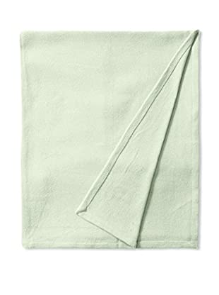 Nautica Twill Cotton Blanket (Light Green)