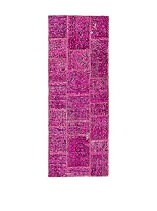 Rugsense Teppich Vintage Persian Collage pink