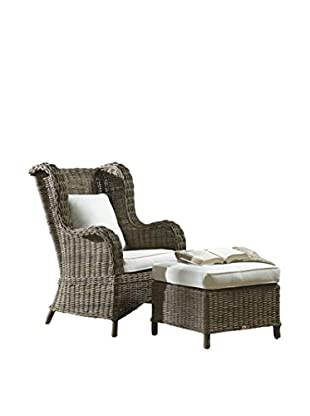 Panama Jack 2-Piece Occasional Chair Set With Cushions, Kubu Grey