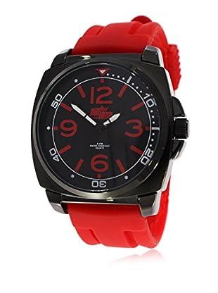 Pit Lane Uhr mit Miyota Uhrwerk Pl-2001-3 rot 42 mm