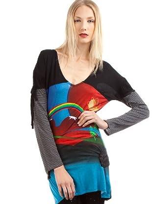 Custo Camiseta Autumn Marsnight (Multicolor)