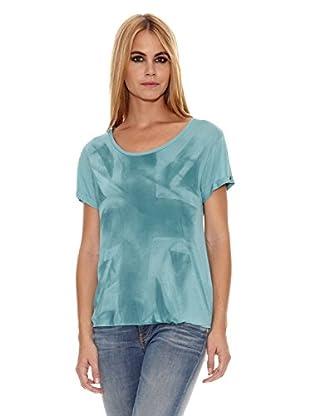 Pepe Jeans London Camiseta Yasmin (Azul Claro)
