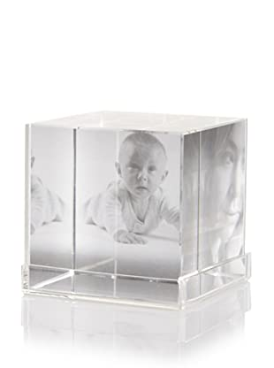 Philippi Cubic Crystal Photo Holder