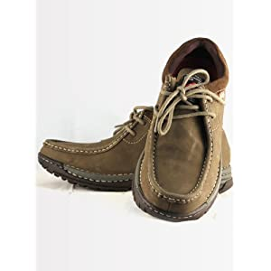 Lee Cooper Men's Casual LC 1653 Olive Shoes