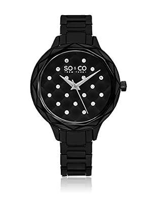 SO & CO New York Uhr mit japanischem Quarzuhrwerk Woman GP16079 38 mm