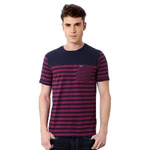 Van Heusen VDKC314D00776 V Dot T-Shirt