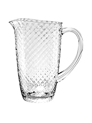 Textured Acrylic Pitcher, Clear