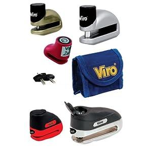 Viro Stopper Moto CKNDL001 Disc Lock-Red