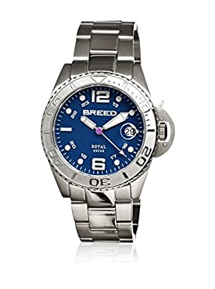 Breed Reloj con movimiento cuarzo suizo Brd4803 Plateado 42  mm