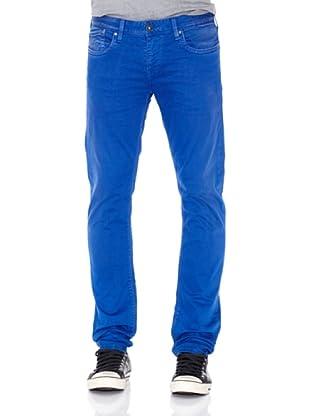 Pepe Jeans London Pantalón Hatch (Azul)