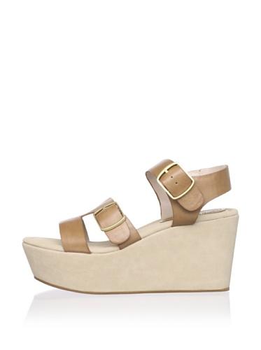 Rosegold Women's Ali Wedge Sandal (Sand)
