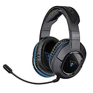 Turtle Beach PS3/PS4 TBS-3270-01 Ear Force Stealth 500P Premium Fully Wireless Gaming Headset with DTS Headphone:X 7.1 Surround Sound for Mobile Devices
