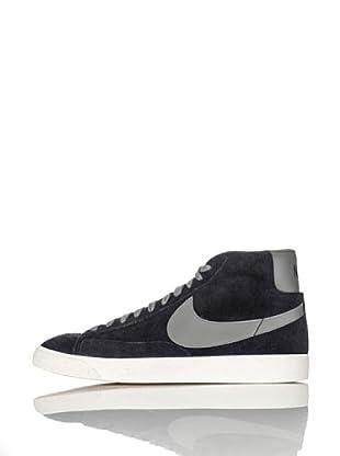 Nike Zapatillas Blazer Mid Prm (Vntg Suede) (Negro/Gris)