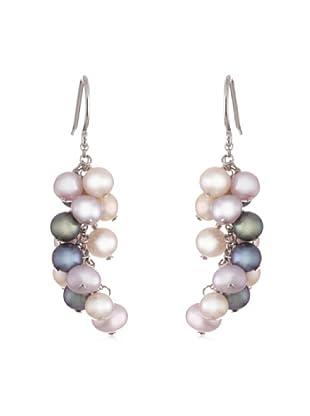 Valero Pearls 60200133 - Pendientes de mujer de plata con perla cultivada de agua dulce
