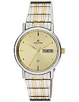 Maxima Analog Gold Dial Men's Watch - 26155CMGT