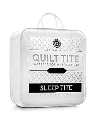 Sleep Tite Malouf Quilt Mattress Pad