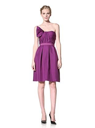 GIAMBATTISTA VALLI Women's One-Shoulder Dress (Purple)