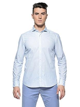 Rodrigo Camisa  Vergil (Azul Celeste / Azul / Blanco)