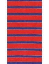 Caspari Paper Napkins 11862G Bretagne Red Blue Guest Napkins Pack of 30