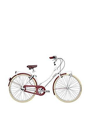 CICLI ADRIATICA Fahrrad Holland Lady Alluminio weiß/rot