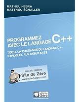 Programmez avec le langage C++ (Livre du Zéro) (French Edition)