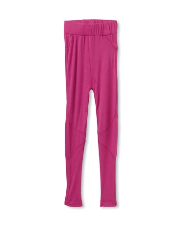 Tiny Pants Girl's Jersey Stitched Legging (Berry Punch)
