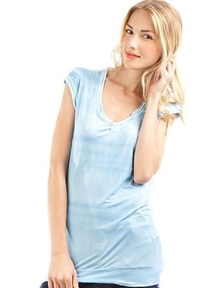 Custo Camiseta (Azul Celeste)