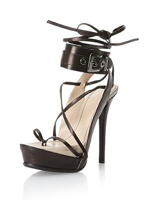 Haider Ackermann Women's Multi-Wrap Platform Sandal (Black)