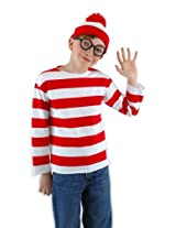 Elope Where's Waldo Youth Costume Kit, Youth Large