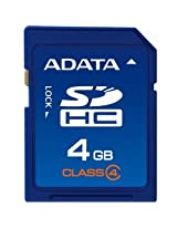 Adata SDHC 4 GB Class 4 Compact Flash Cards