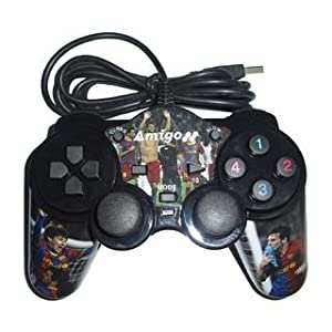 Amigo Windows PC Double Shock FIFA USB Gamepad