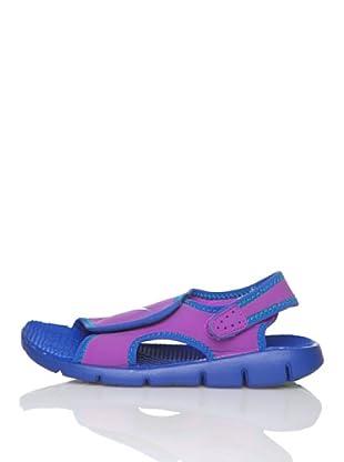 Nike Chanclas Sunray Adjust 4 (Gs/Ps) (Morado)