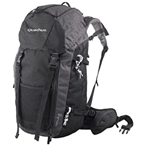 Quechua Hiking 50-Liter Backpack-Gray