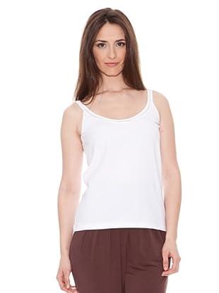 Diktons Camiseta Cordón (Blanco)