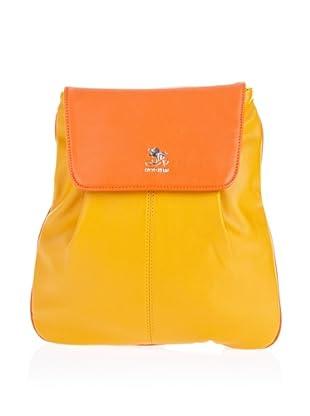 Otto Kern Rucksack Lyon 7 (Gelb/Orange)