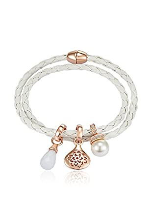 Lilly & Chloe Armband Made with Swarovski® Elements weiß
