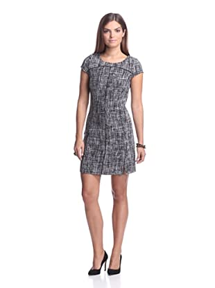 AS by DF Women's Cornelia Tweed Dress (Black)