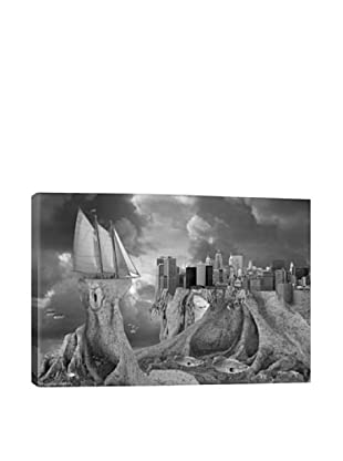 Thomas Barbèy Fish Out Of Water Giclée Canvas Print