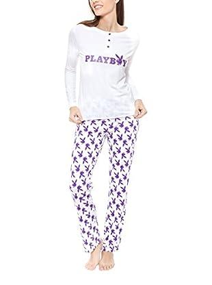 Play Boy Nightwear Pyjama Cosy Time Cozy Nights