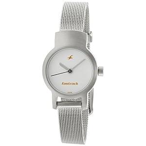 Fastrack NE2298SM02 Women's Watch-Silver