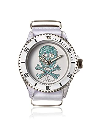 ToyWatch Women's S05WHLB White Polycarbonate Watch