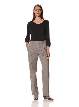 JIL SANDER Women's Cotton Wide Leg Pant