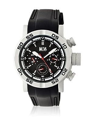 Mos Reloj con movimiento cuarzo japonés Mosmb101 Negro 48  mm