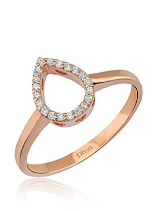 Divas Diamond Anillo DVS234990 (Oro Rosa)